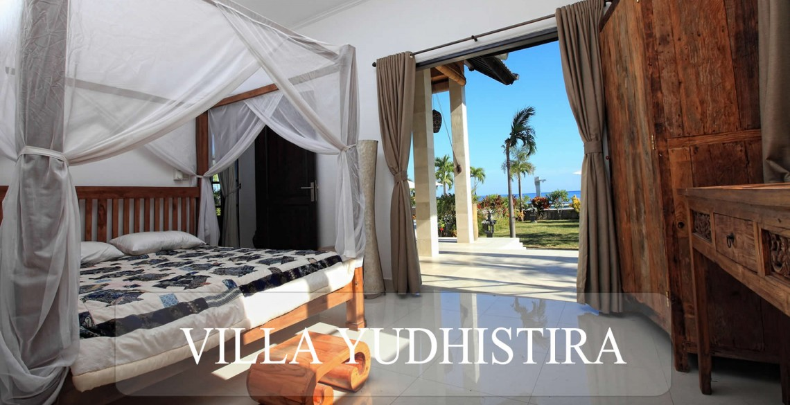 Slaapkamer Villa Yudhistira